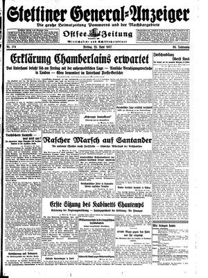 Stettiner General-Anzeiger vom 25.06.1937