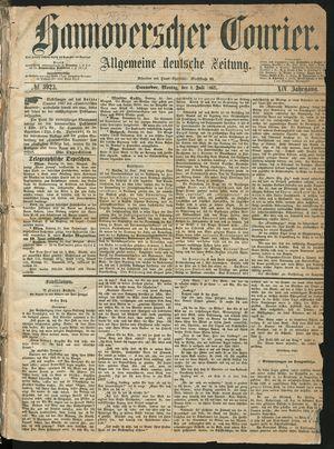 Hannoverscher Kurier vom 01.07.1867
