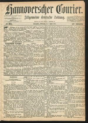 Hannoverscher Kurier on Jul 3, 1867