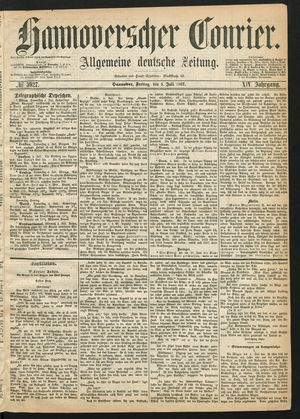 Hannoverscher Kurier vom 05.07.1867