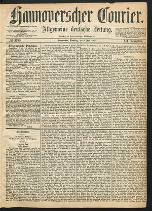 Hannoverscher Kurier vom 09.07.1867