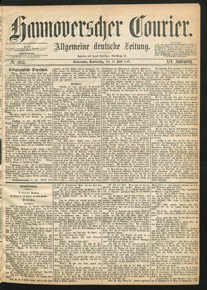 Hannoverscher Kurier vom 11.07.1867