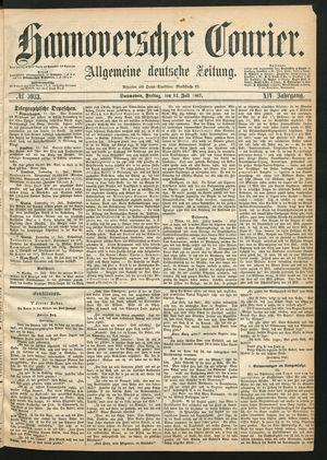 Hannoverscher Kurier vom 12.07.1867