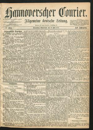 Hannoverscher Kurier vom 13.07.1867