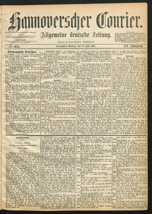 Hannoverscher Kurier vom 15.07.1867