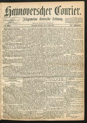 Hannoverscher Kurier vom 16.07.1867