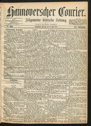 Hannoverscher Kurier vom 19.07.1867