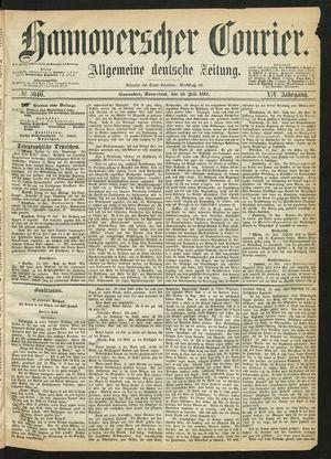 Hannoverscher Kurier on Jul 20, 1867