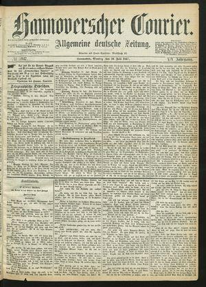 Hannoverscher Kurier vom 29.07.1867