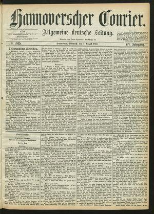 Hannoverscher Kurier on Aug 7, 1867
