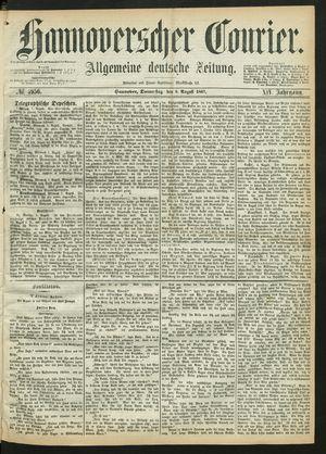 Hannoverscher Kurier vom 08.08.1867
