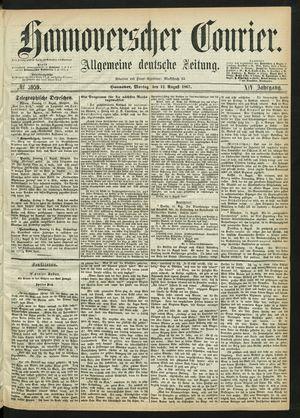 Hannoverscher Kurier vom 12.08.1867
