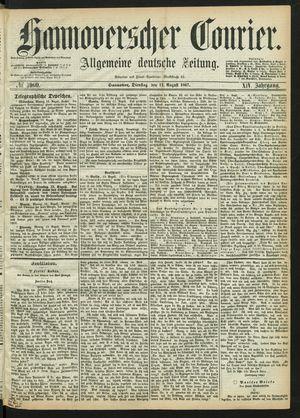 Hannoverscher Kurier vom 13.08.1867
