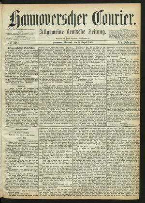 Hannoverscher Kurier vom 14.08.1867