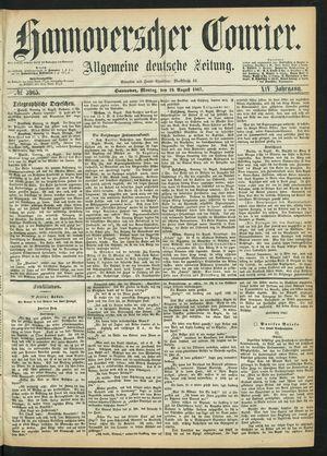 Hannoverscher Kurier vom 19.08.1867