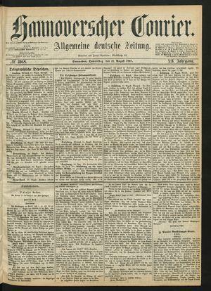 Hannoverscher Kurier vom 22.08.1867