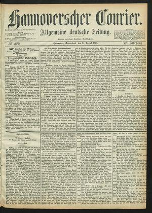 Hannoverscher Kurier vom 24.08.1867