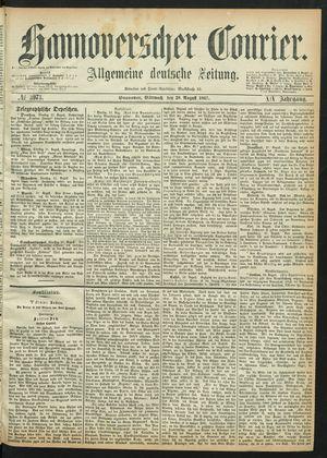 Hannoverscher Kurier vom 28.08.1867