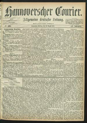 Hannoverscher Kurier vom 30.08.1867
