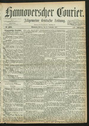 Hannoverscher Kurier vom 13.09.1867