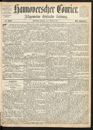 Hannoverscher Kurier vom 07.10.1867