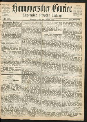 Hannoverscher Kurier vom 08.10.1867