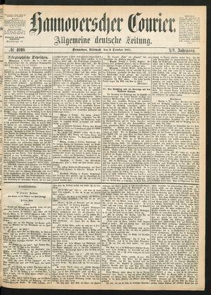 Hannoverscher Kurier on Oct 9, 1867