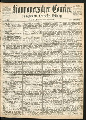 Hannoverscher Kurier vom 12.10.1867