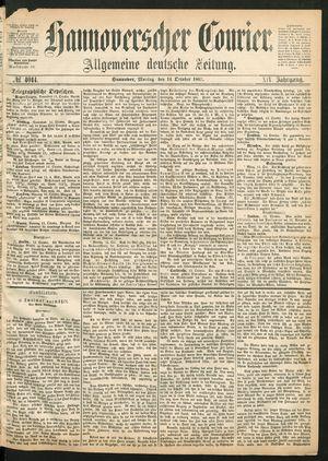 Hannoverscher Kurier vom 14.10.1867