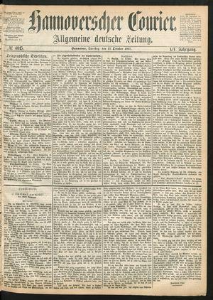 Hannoverscher Kurier vom 15.10.1867
