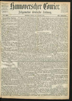 Hannoverscher Kurier vom 18.10.1867
