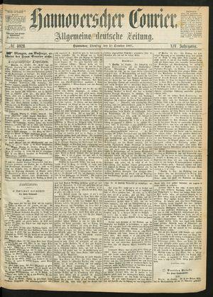 Hannoverscher Kurier vom 22.10.1867