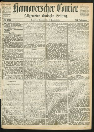 Hannoverscher Kurier vom 26.10.1867