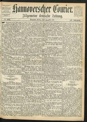 Hannoverscher Kurier vom 08.11.1867