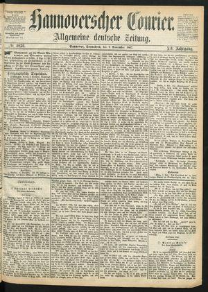 Hannoverscher Kurier vom 09.11.1867