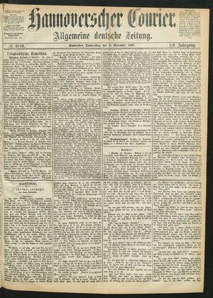 Hannoverscher Kurier vom 14.11.1867