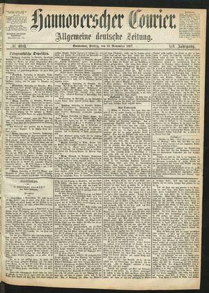 Hannoverscher Kurier vom 15.11.1867