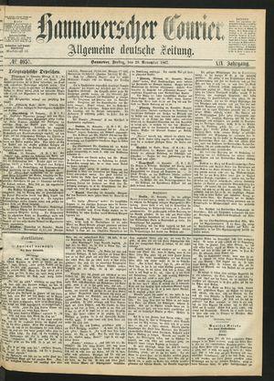 Hannoverscher Kurier vom 29.11.1867
