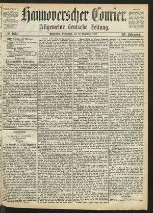 Hannoverscher Kurier vom 30.11.1867