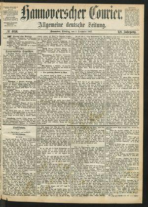 Hannoverscher Kurier vom 03.12.1867