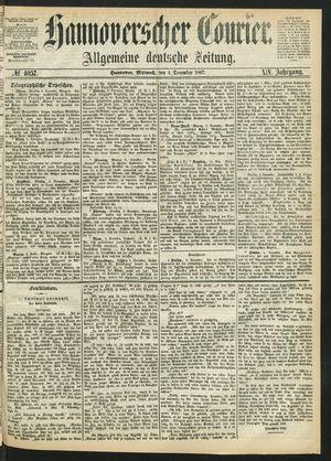 Hannoverscher Kurier vom 04.12.1867