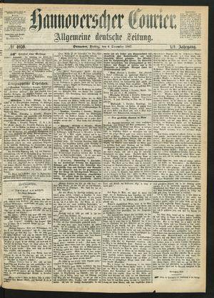 Hannoverscher Kurier vom 06.12.1867