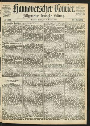Hannoverscher Kurier vom 10.12.1867