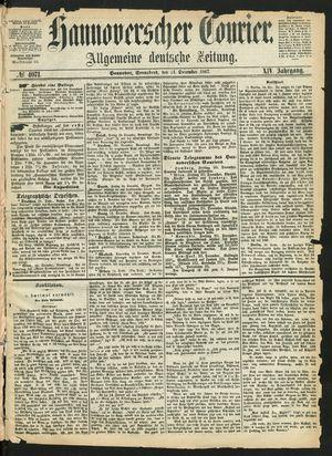 Hannoverscher Kurier vom 21.12.1867