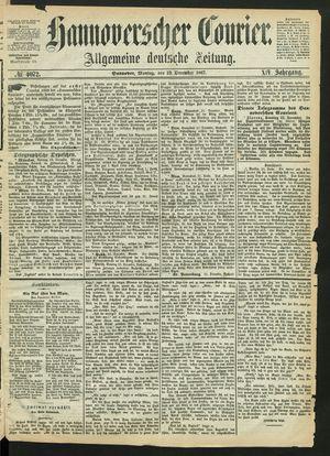 Hannoverscher Kurier vom 23.12.1867