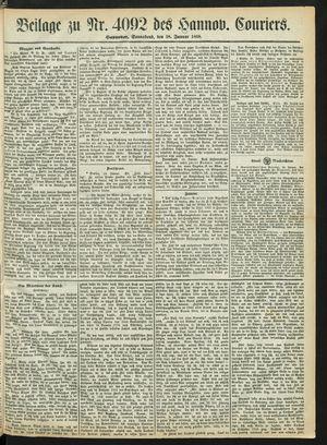 Hannoverscher Kurier vom 18.01.1868