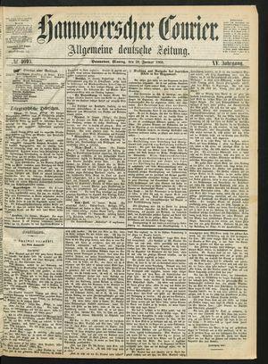 Hannoverscher Kurier vom 20.01.1868