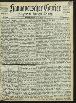 Hannoverscher Kurier vom 27.01.1868