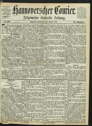 Hannoverscher Kurier on Feb 6, 1868
