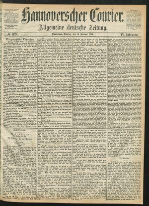 Hannoverscher Kurier vom 24.02.1868
